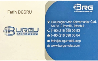 Burgu Metal San. Ve Tic. Ltd.şti