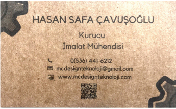 Mcdesign Teknoloji Limited Şirketi