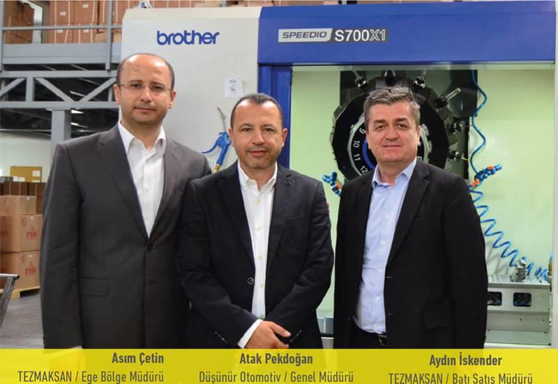 """Düşünür Motorlu Vasıtalar Genel Müdürü Atak Pekdoğan: """"Süreklilik için yüksek teknolojiye yatırım yaptık, Brother aldık"""""""