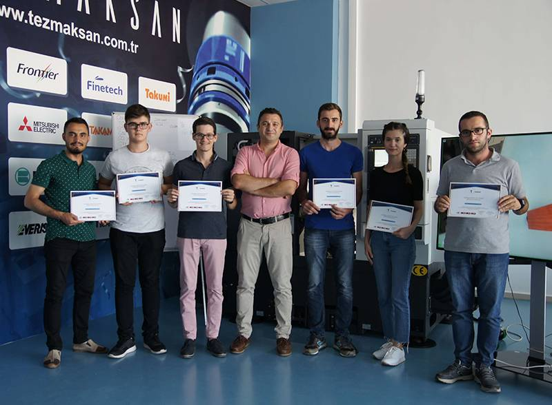 TEZMAKSAN Academy anchored in Izmir Free charge of CNC training for students, now in Izmir after Istanbul and Ankara …