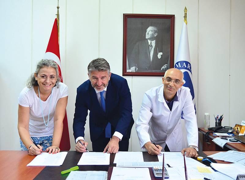 TEZMAKSAN Akademi, kalifiye personelini yetiştirmek için Marmara Üniversitesi'ne çıkarma yaptı