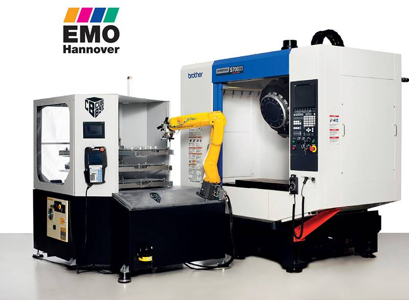 TEZMAKSAN is on the way to EMO Hannover with its own CUBEBOX and KAPASİTEMATİK it produces